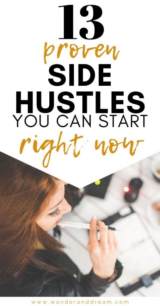 13 proven side hustles you can start right now to earn extra money